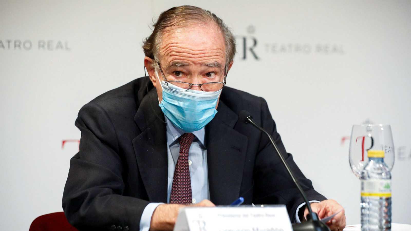 """14 horas - El presidente del Teatro Real: """"No se incumplió ninguna ley"""" - Escuchar ahora"""