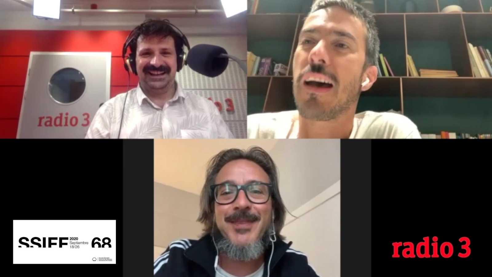 Hoy empieza todo con Ángel Carmona - Pucho & Page: Festival de San Sebastián - 22/09/20 - escuchar ahora