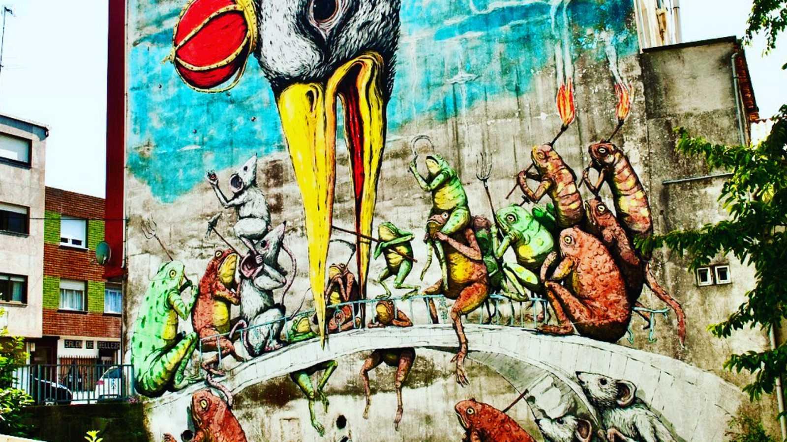 Global 5 - Arte Urbano A Coruña (VII): Rexenera Fest de Carballo - 22/09/20 - Escuchar ahora