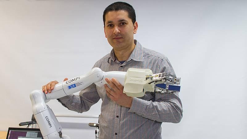 Punto de enlace - José de Gea, investigador en Alemania de robótica avanzada - 22/09/20 - escuchar ahora
