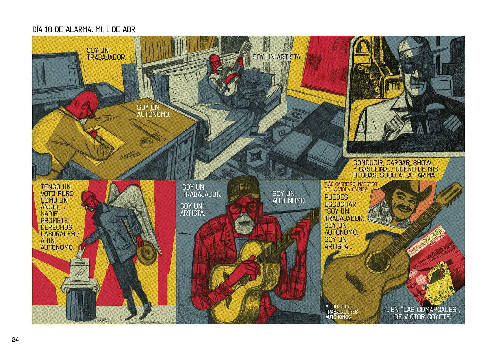 El ojo crítico - Victor Coyote y sus 'Días de alarma' - 22/09/20 - escuchar ahora