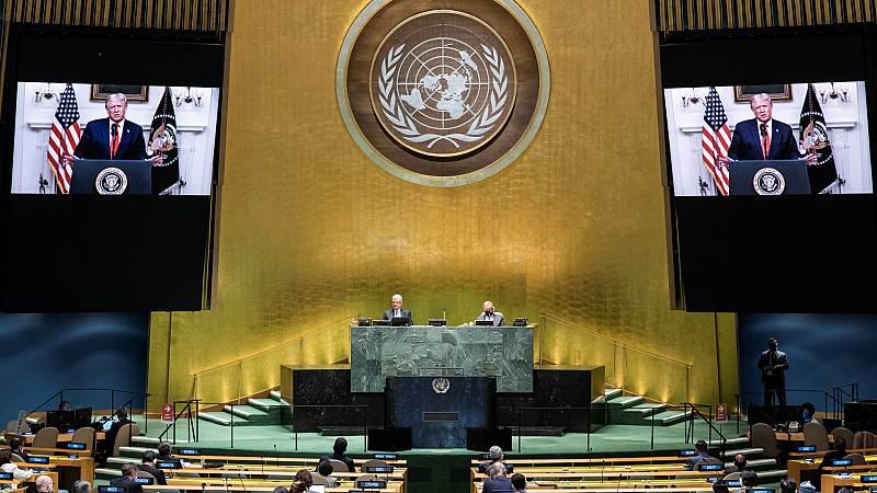 24 horas - China y EE.UU. escenifican su enfrentamiento en la Asamblea de la ONU - Escuchar ahora