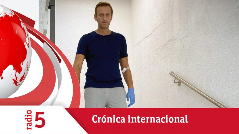 Crónica internacional - El opositor ruso Navalny recibe el alta - Escuchar ahora