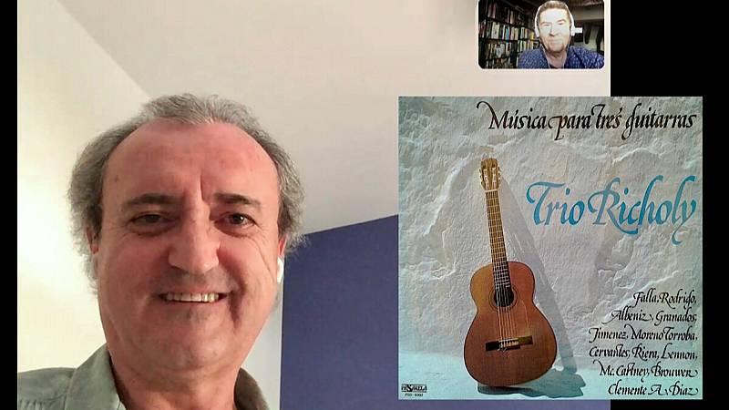 Entre dos luces - Richoly, cien años de guitarra - 24/09/20 - escuchar ahora