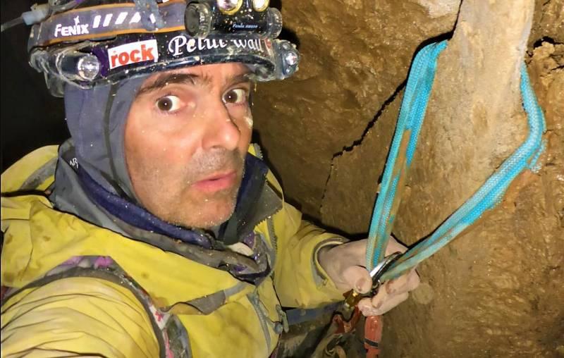 En Directe a Ràdio 4 - David Palmada, escalador. Ha baixat al pou més profund d'Espanya