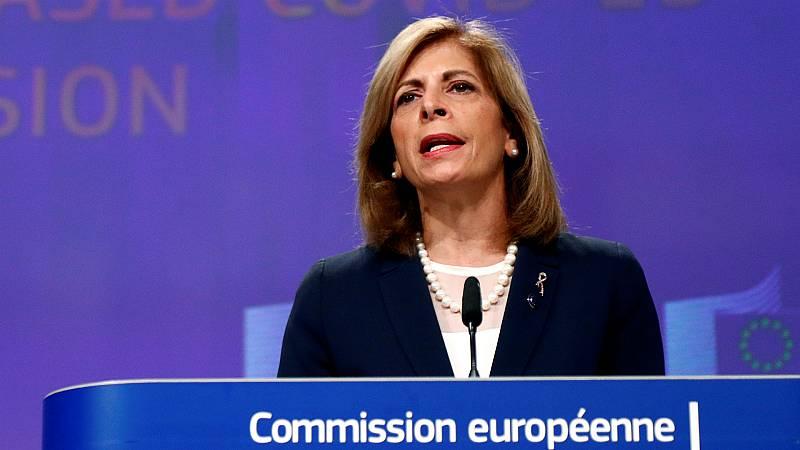 """14 horas - Bruselas urge a los 27 a actuar ya para no volver a la situación de marzo: """"Puede ser nuestra última oportunidad"""" - Escuchar ahora"""