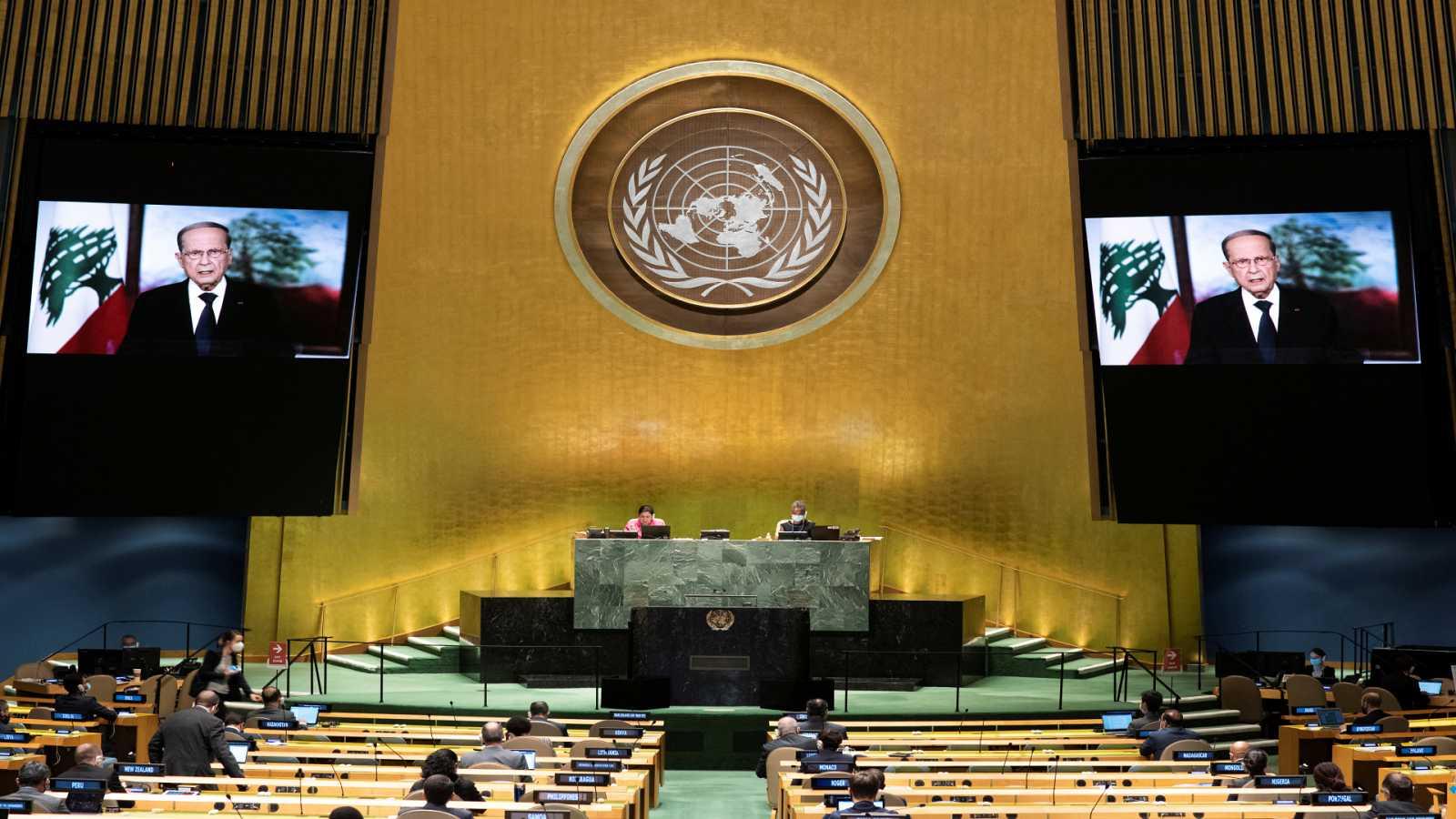 Cinco continentes - Líbano: Aoun clama ayuda en la ONU