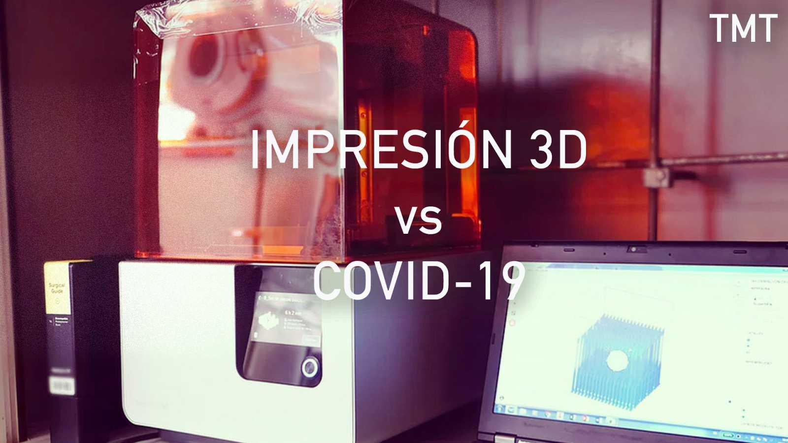 Meridiano de Turing - Impresión 3D vs. Covid-19 - Escuchar ahora