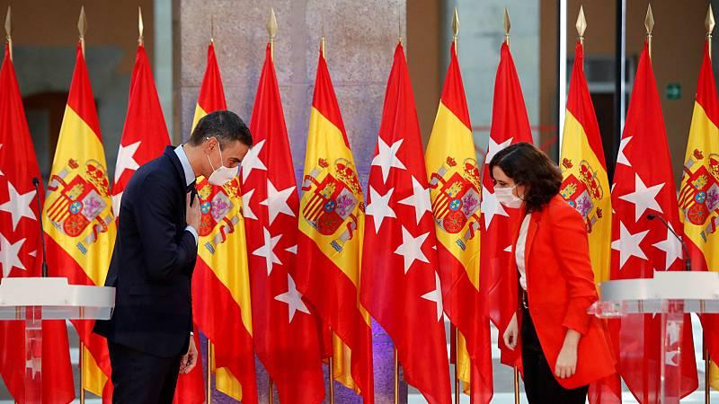 14 horas - El Gobierno no se plantea tomar el mando en Madrid, pero critica la tibieza de la Comunidad - Escuchar ahora