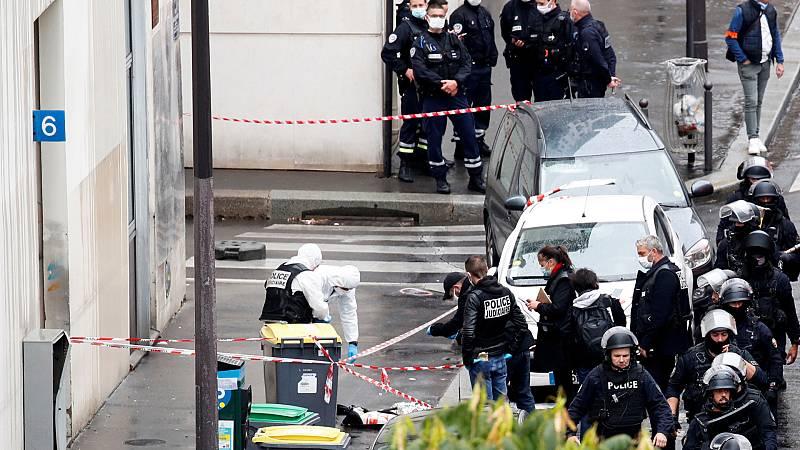 Cinco continentes - Ataque terrorista, sin víctimas mortales, en París - Escuchar ahora