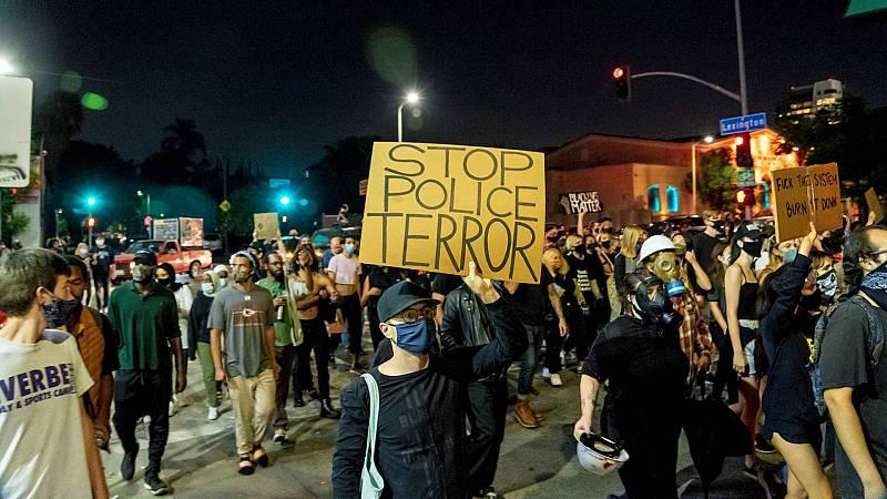 España a las 8 Fin de Semana - Tercera noche consecutiva de tensión en Estados Unidos con protestas antirracistas - Escuchar ahora