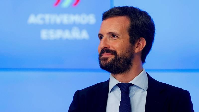 14 horas Fin de Semana - Casado pide el cese de Garzón y la reprobación de Iglesias por sus críticas al rey - Escuchar ahora