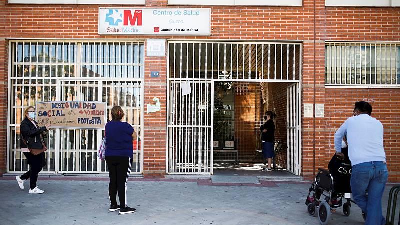 España a las 8 Fin de Semana - Sanidad avisa de que podría intervenir la sanidad madrileña si no se aplican medidas más contundentes - Escuchar ahora