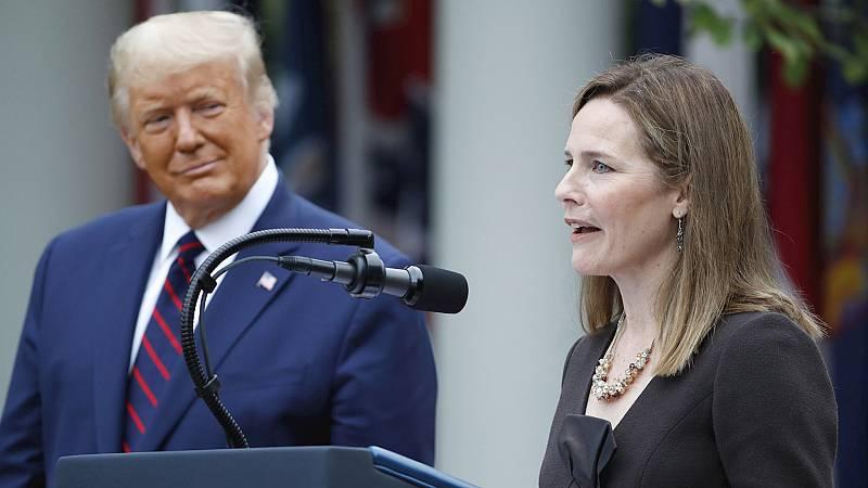 España a las 8 Fin de Semana - Trump nomina a la jueza conservadora Amy Coney Barrett para el Tribunal Supremo - Escuchar ahora