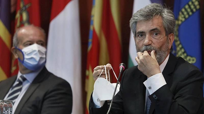 Boletines RNE - La mayoría del Congreso pide al PP que no bloquee la renovación del CGPJ y otras instituciones - Escuchar ahora