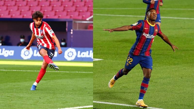 Tablero deportivo - Atleti y Barça empiezan goleando - Escuchar ahora