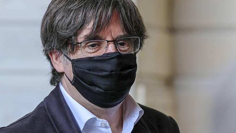 Boletines RNE - Puigdemont, satisfecho con el acuerdo del independentismo para alargar la legislatura ante la inhabilitación de Torra - Escuchar ahora