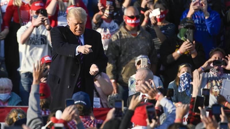 24 horas - Qué dicen las encuestas sobre las elecciones en EE.UU. - Escuchar ahora