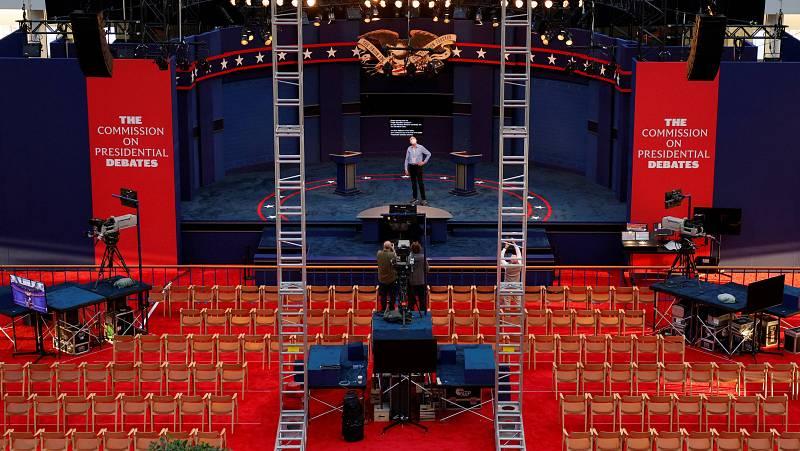 14 horas - El primer cara a cara de Trump y Biden se presenta tenso y duro - Escuchar ahora