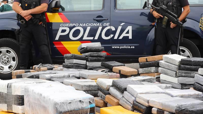 14 horas - El mayor golpe marítimo al tráfico de droga en España frena 35 toneladas de hachís - Escuchar ahora