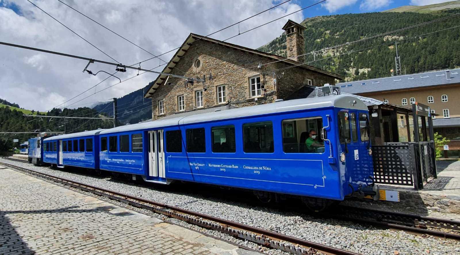 En clave Turismo - Viajamos en el tren cremallera al santuario de Nuria - 01/10/20 - escuchar ahora