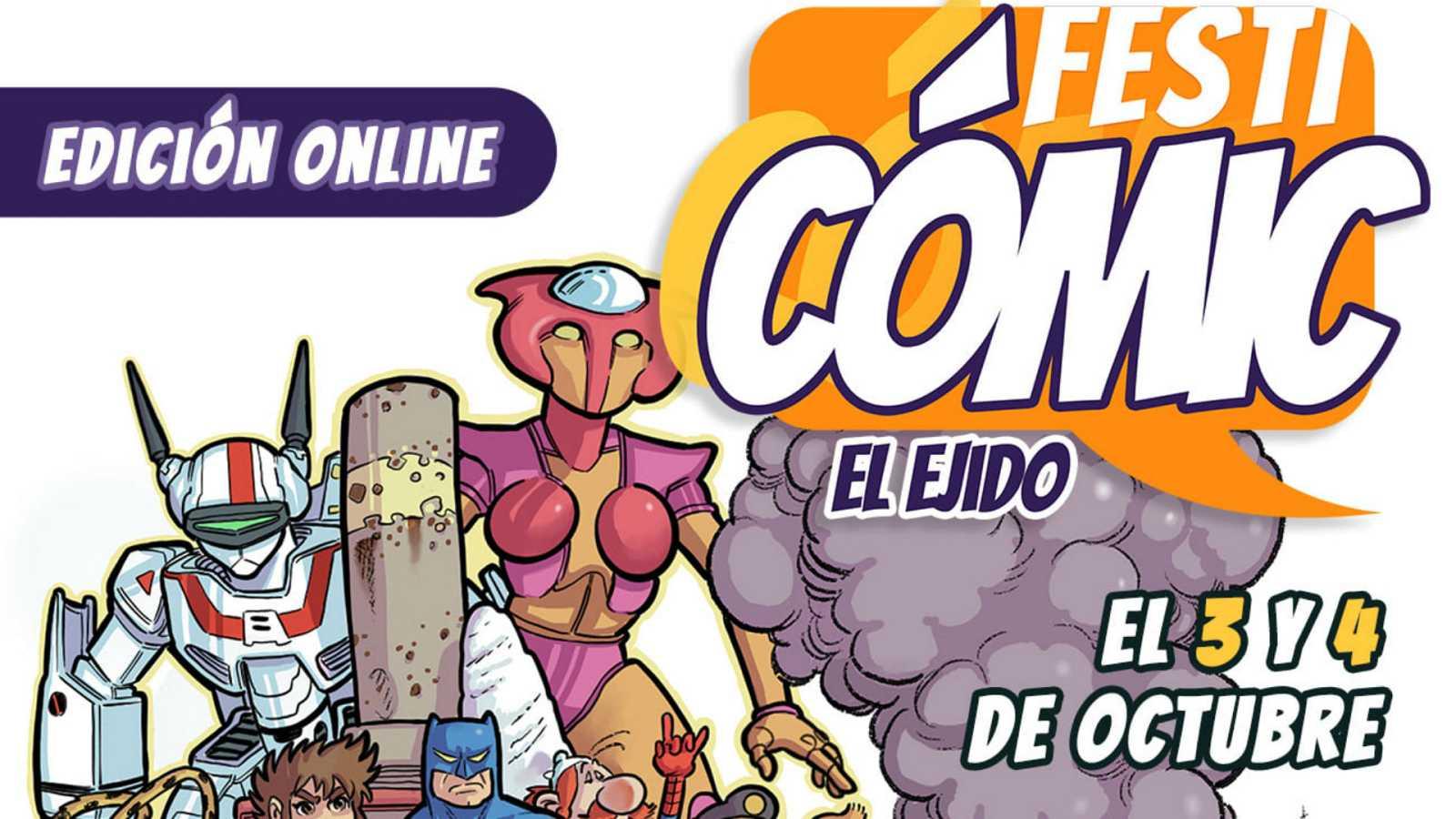 Viñetas y bocadillos - FestiCómic on line - 02/10/20 - Escuchar ahora