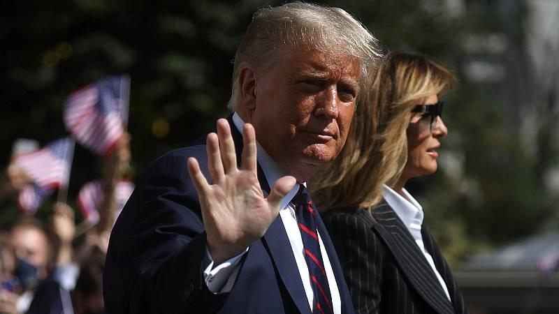 Cinco continentes - El positivo de Trump - Escuchar ahora