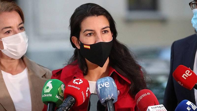 Informativos fin de semana - 24 horas - Vox solicita medidas cautelarísimas contra las restricciones de Sanidad en Madrid - Escuchar ahora
