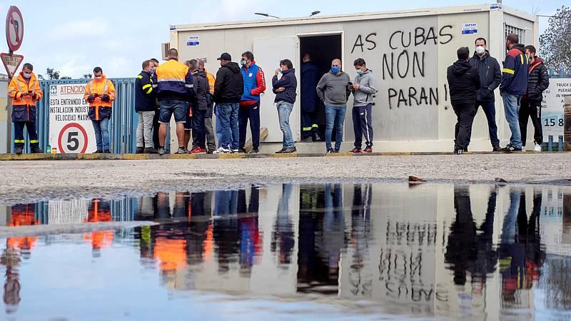 14 horas Fin de Semana - Los trabajadores de Alcoa San Cibrao inician una huelga indefinida - Escuchar ahora