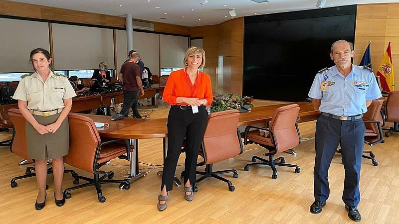 Por tres razones - La primera general de España trabaja en el INTA - 05/10/20 - escuchar ahora