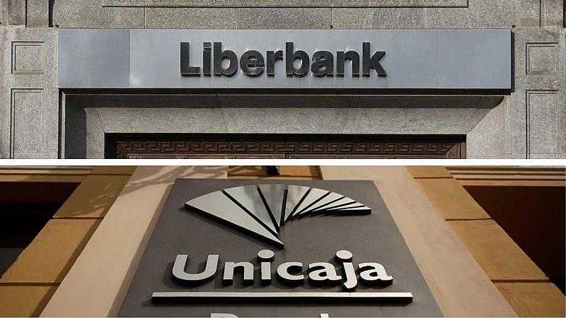 24 horas - Unicaja y Liberbank negocian su fusión y se disparan en bolsa - Escuchar ahora
