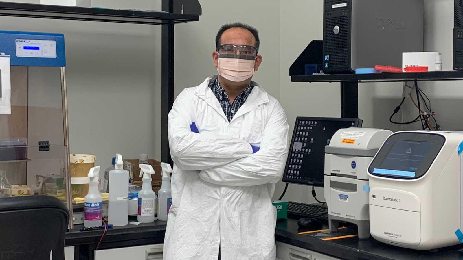 Punto de enlace - Enrique Valera estudia el desarrollo de biosensores - 06/10/20 - escuchar ahora
