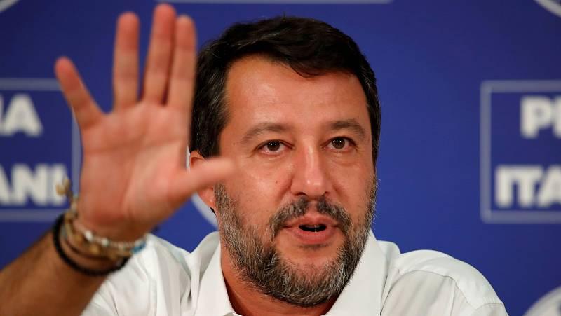 14 horas - Italia elimina la ley contra la inmigración de Salvini que multaba a los barcos de salvamento