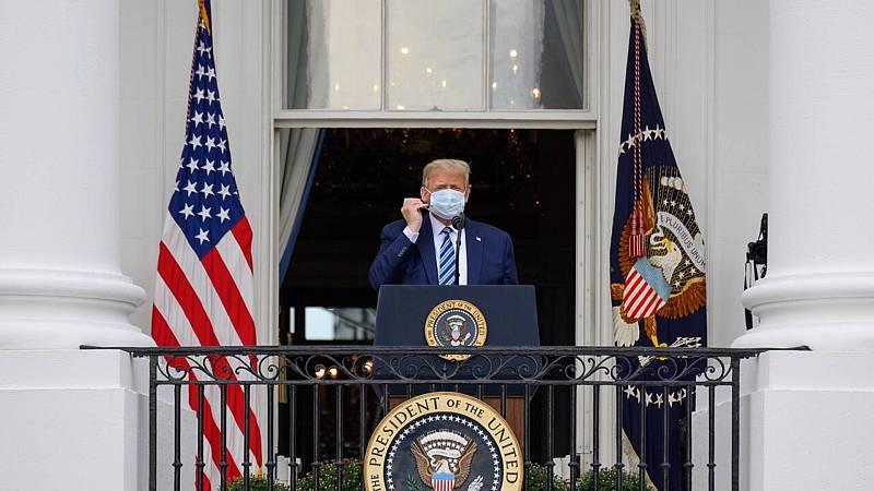 España a las 8 Fin de Semana - La Casa Blanca, escenario del primer mitín de Trump tras ser hospitalizado - Escuchar ahora