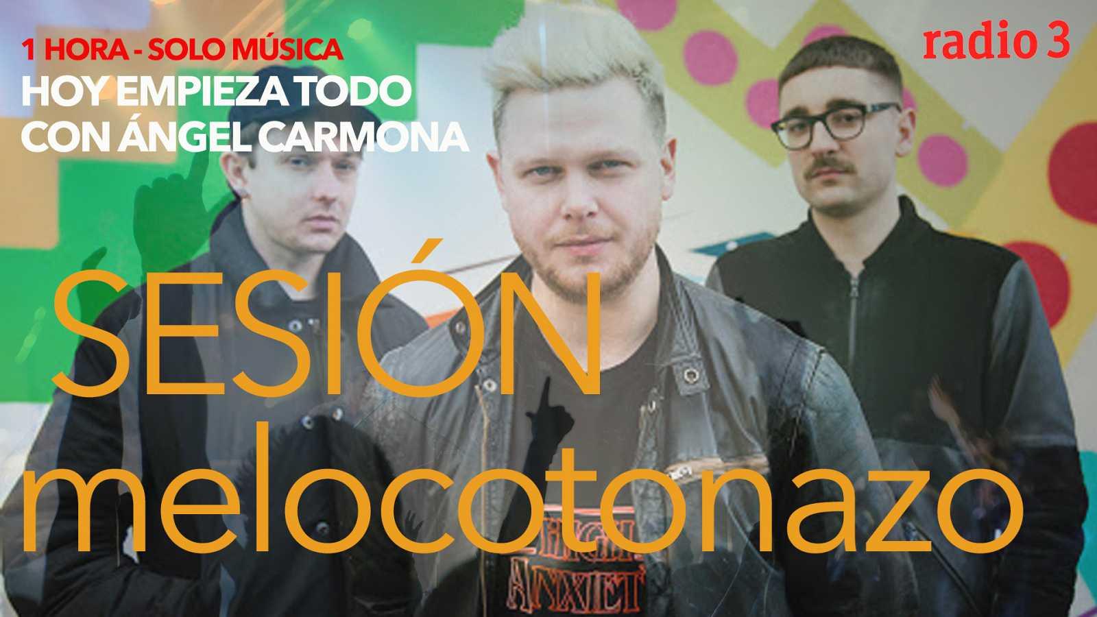 """Hoy empieza todo con Ángel Carmona - """"#SesiónMelocotonazo"""": Triana, Alt J, Joy Division... - 14/10/20 - escuchar ahora"""