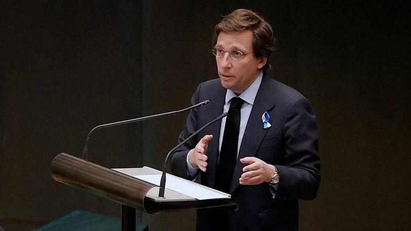 """14 horas - Martínez Almeida: """"La moción de censura se fundamentó en unos párrafos que el Supremo ha eliminado"""" - Escuchar ahora"""