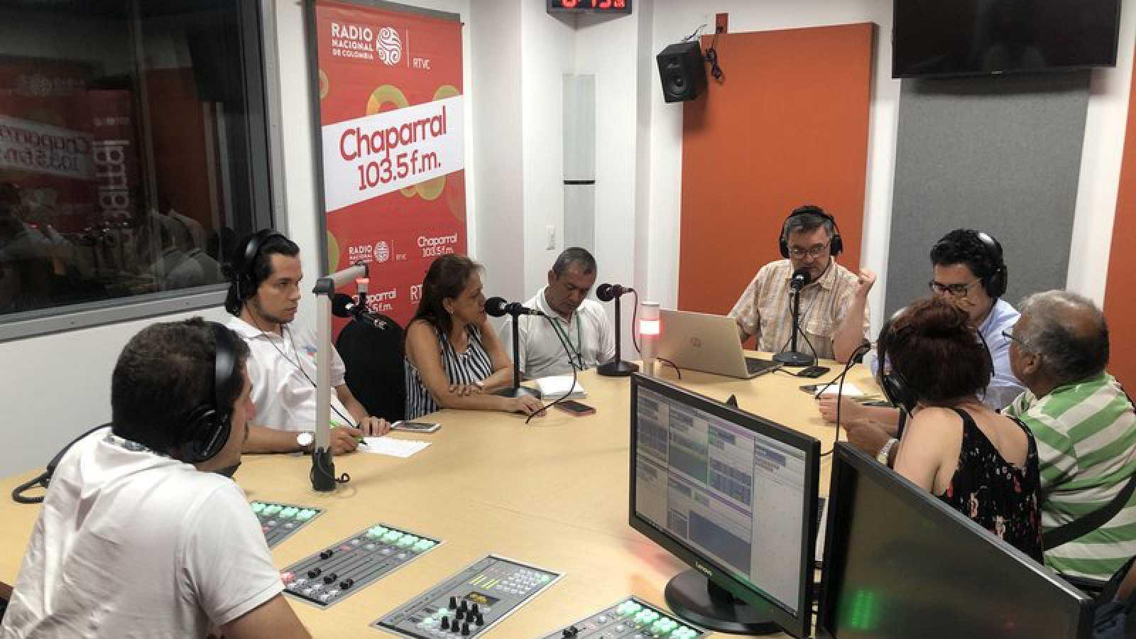 Amgos de la onda corta - Emisoras colombianas para la paz - 15/10/20 - escuchar ahora
