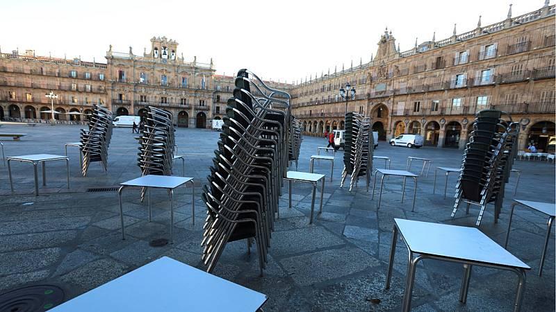 14 horas - La Junta de Castilla y León ordena el cierre de Salamanca a partir del sábado - Escuchar ahora