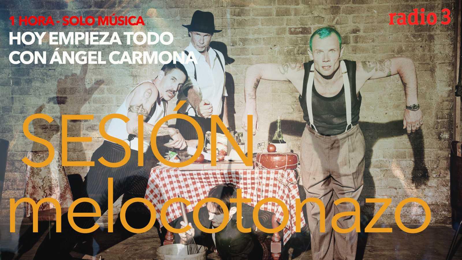 """Hoy empieza todo con Ángel Carmona - """"#SesiónMelocotonazo"""": Red Hot Chili Peppers, Cage the elephant, Varry Brava... - 16/10/20 - escuchar ahora"""
