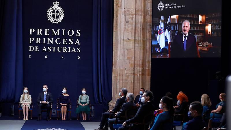 24 horas - Los premios Princesa de Asturias, marcados por la pandemia - Escuchar ahora