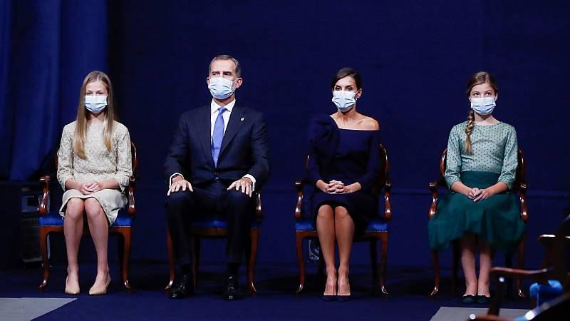 24 horas - El Rey destaca el compromiso de la monarquía y la Princesa apela a la responsabilidad de su generación - Escuchar ahora