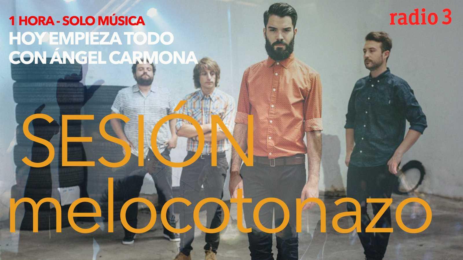 Hoy empieza todo con Ángel Carmona - #SesiónMelocotonazo: Vinicius de Moraes, Supersubmarina, Carolina Durante... - 19/10/20 - escuchar ahora