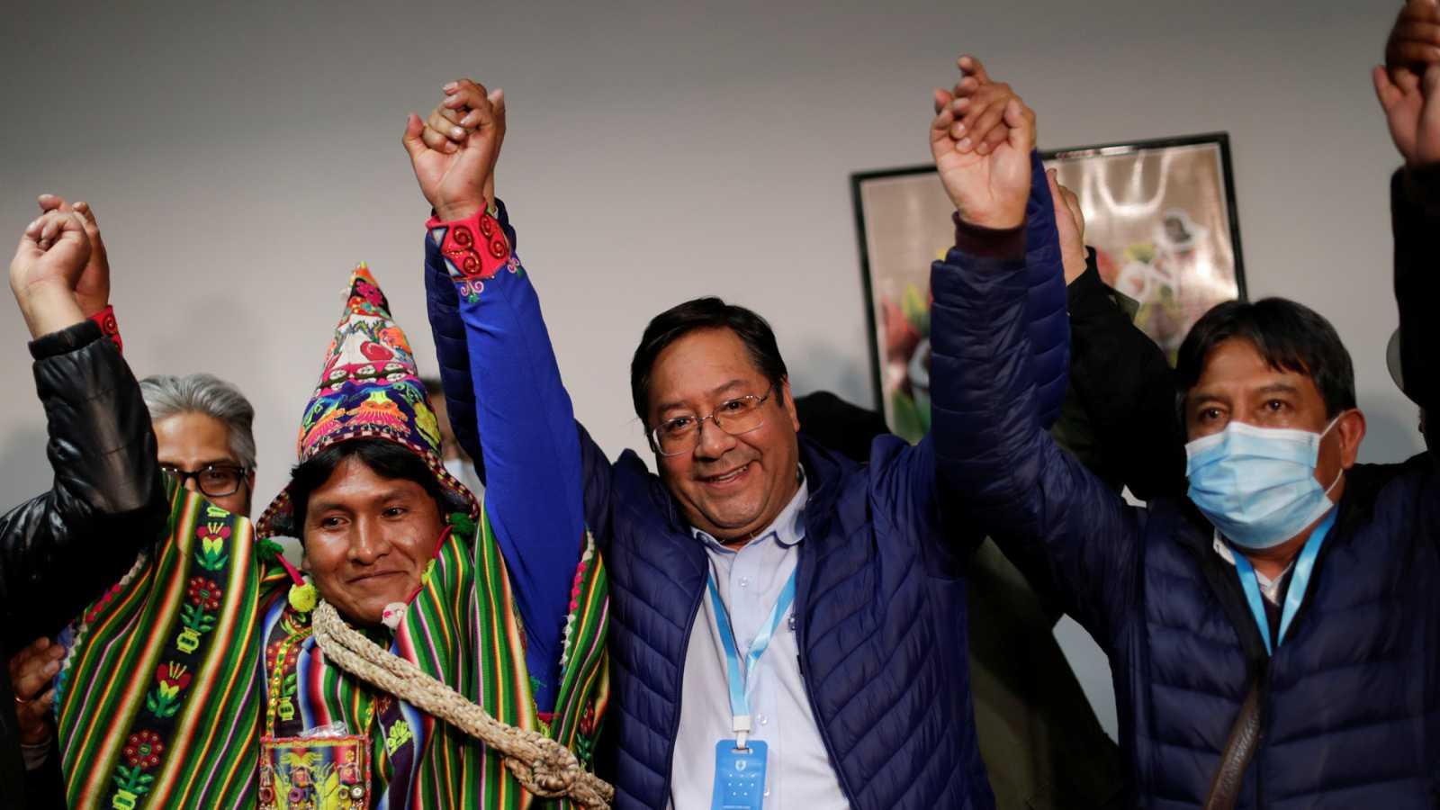 Hora América - Luis Arce, presidente electo de Bolivia - 19/10/20 - escuchar ahora