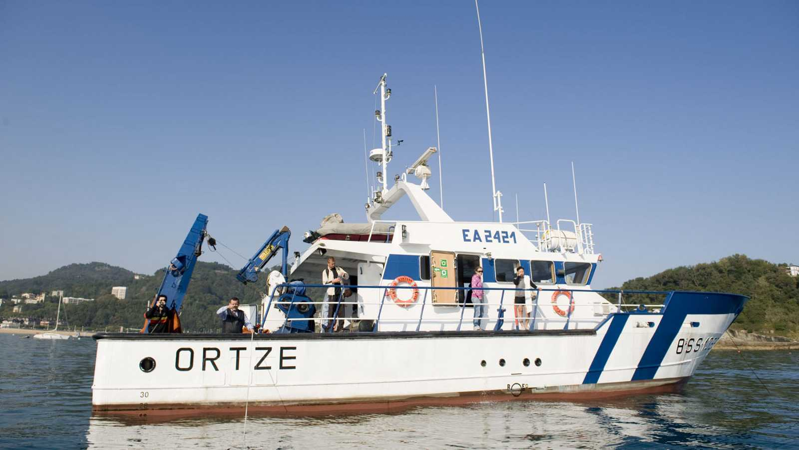 Españoles en la mar - Primer buque eléctrico-híbrido fabricado en el País Vasco - 19/10/20 - escuchar ahora
