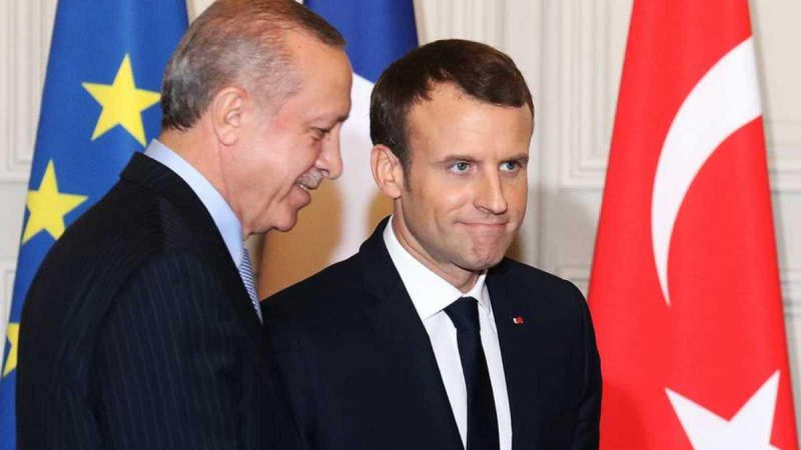 Reportajes 5 Continentes - Macron y Erdogan, dos rivales en el Mediterráneo Oriental - Escuchar ahora