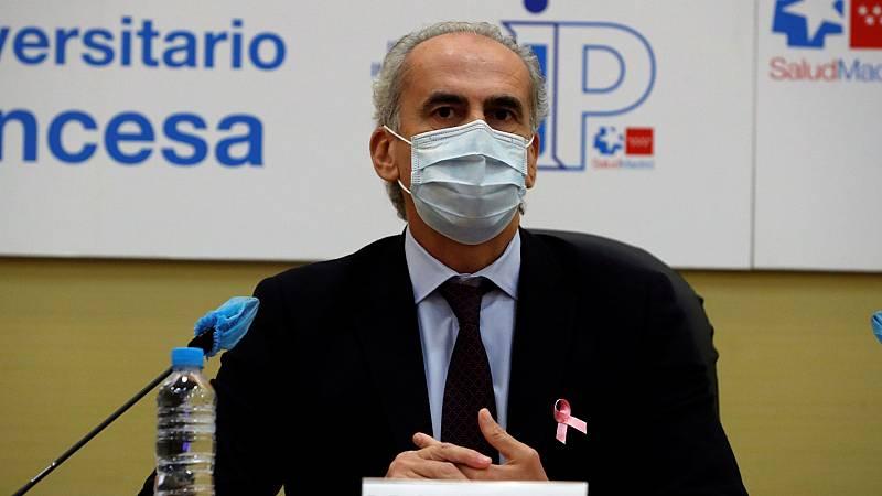 24 horas - Aumentan a 7 las dimisiones en el Ejecutivo madrileño desde el comienzo de la crisis sanitaria - Escuchar ahora