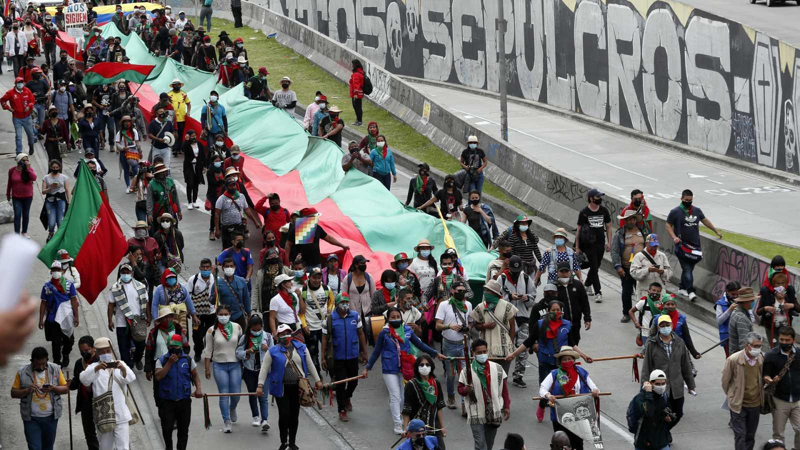 Hora América - Minga Indígena en Colombia - 20/10/20 - Escuchar ahora