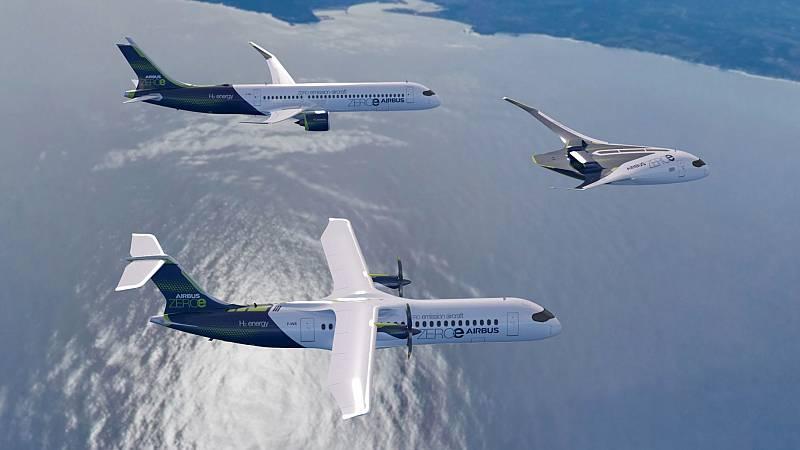 A golpe de bit - El primer avión propulsado totalmente por hidrógeno llevará el sello de Airbus - 20/10/20 - escuchar ahora