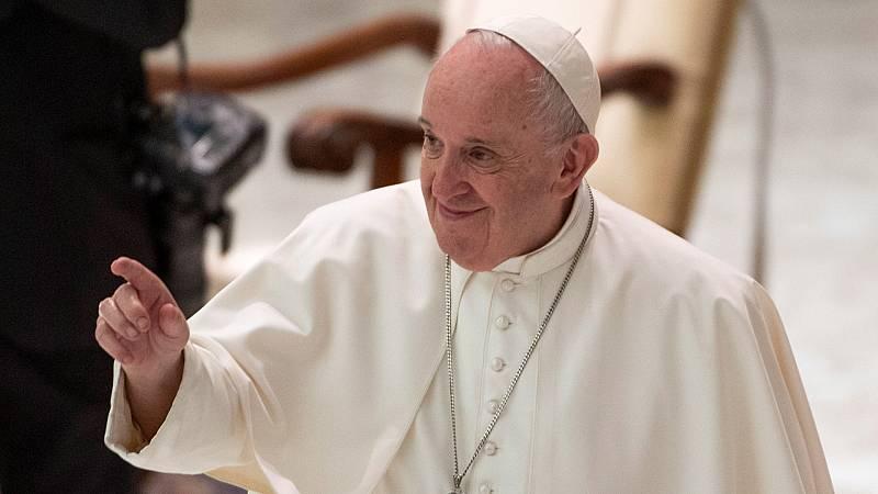 """Boletines RNE - El papa Francisco defiende la """"unión civil"""" de los homosexuales - Escuchar ahora"""