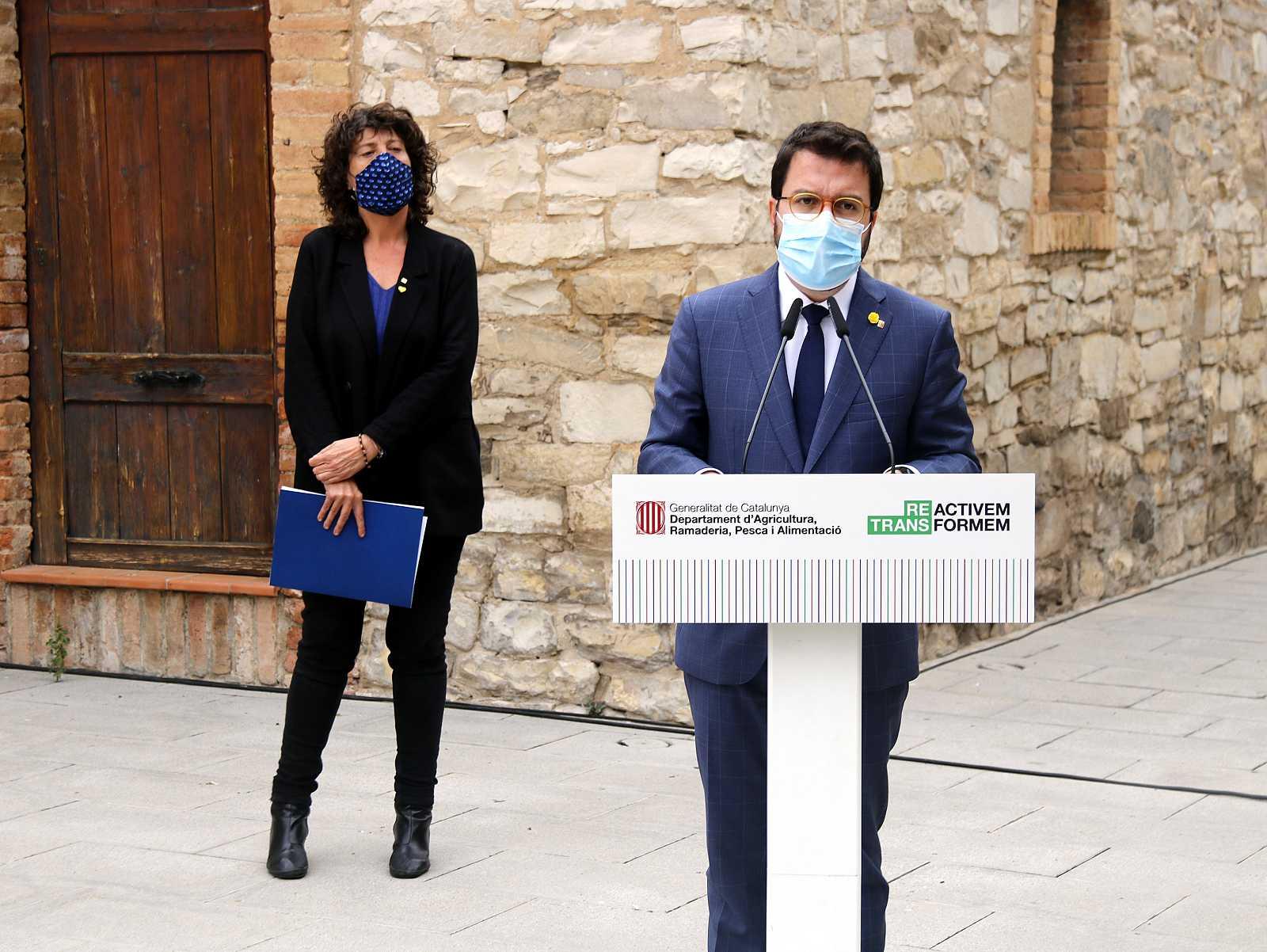 Edició Migdia - Aragonès descarta el toc de queda si no el gestiona la Generalitat